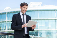 Successful businessman. Stock Images
