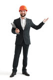 Successful businessman in formal wear Royalty Free Stock Photos
