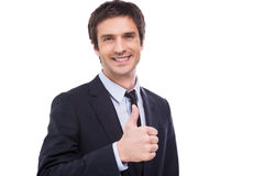 Successful businessman. Stock Photography