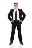 Successful businessman portrait Stock Photography