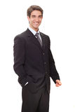 Successful businessman smiling Royalty Free Stock Image