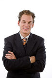 Successful businessman smiling Royalty Free Stock Photography