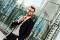Successful businessman. Royalty Free Stock Image