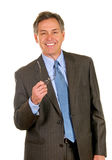 Successful Businessman Wearing Suit And Tie Stock Image