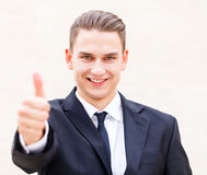 Successful businessman Stock Photos