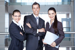 Successful businessmen Stock Images