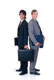 Successful businessmen Stock Images