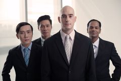 Successful businessmen Stock Photography