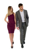Managers man and woman Stock Photo