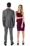 Managers man and woman Stock Photography
