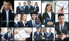 Successful businesspeople Royalty Free Stock Photo
