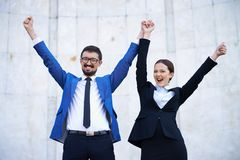 Successful businesspeople Royalty Free Stock Image