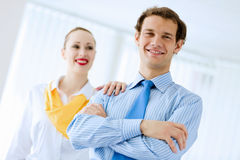 Successful businesspeople Stock Photos