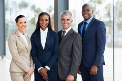 Successful businesspeople team Stock Images