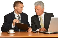 Successful Businesspeople at work Stock Image