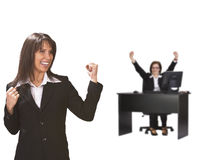 Successful businessteam Stock Photo