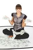 Successful businesswoman. 