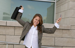 Successful businesswoman Stock Photography