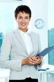 Successful businesswoman Stock Image