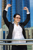Successful businesswoman Stock Images