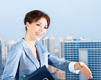 Successful businesswoman Royalty Free Stock Photography