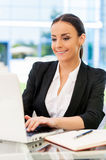 Successful businesswoman. Stock Photography
