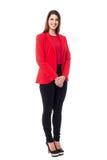 Successful businesswoman in formals Stock Photos