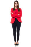 Successful businesswoman in formals Stock Image