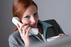 Successful businesswoman on the phone Stock Photo