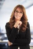Successful businesswoman portrait Stock Photos