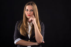 Successful businesswoman portrait Stock Photography