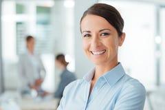 Successful businesswoman portrait Stock Image