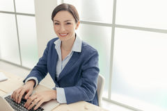 Successful businesswoman portrait Royalty Free Stock Images