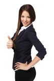 Successful businesswoman posing Stock Photo