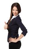 Successful businesswoman posing Stock Photo