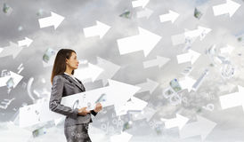 Successful businesswoman Royalty Free Stock Images