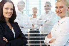 Successful businesswomen Stock Image