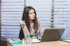 Successful businesswomen working in the office Stock Photos