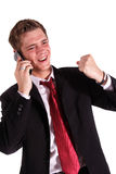 Successful call Royalty Free Stock Image