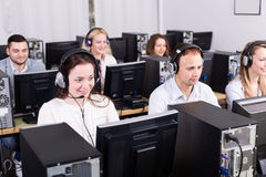 Successful call center Stock Image