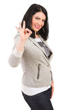 Successful casual woman Royalty Free Stock Photo