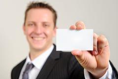 Successful caucasian associate Stock Images