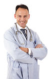 Successful caucasian man doctor Royalty Free Stock Images