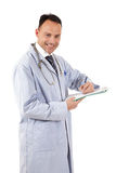 Successful caucasian man doctor Royalty Free Stock Image