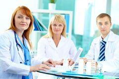 Successful clinicians Stock Photo