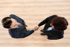 Successful Completion of Negotiations Royalty Free Stock Photo