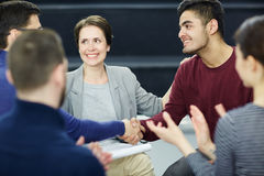 Successful conciliation Stock Photography