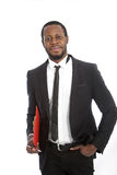 Successful confident African businessman Stock Photo