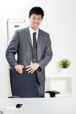 Successful confident Asian businessman Stock Photography