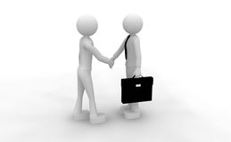 Successful cooperation Stock Photos